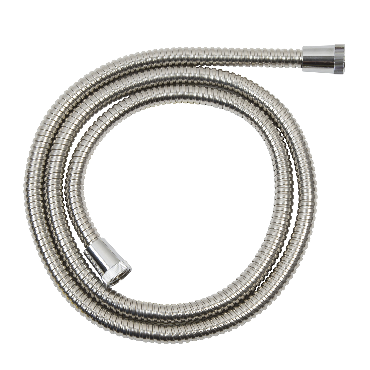 Image of Croydex 1.75m Stainless Steel Hose, Chrome