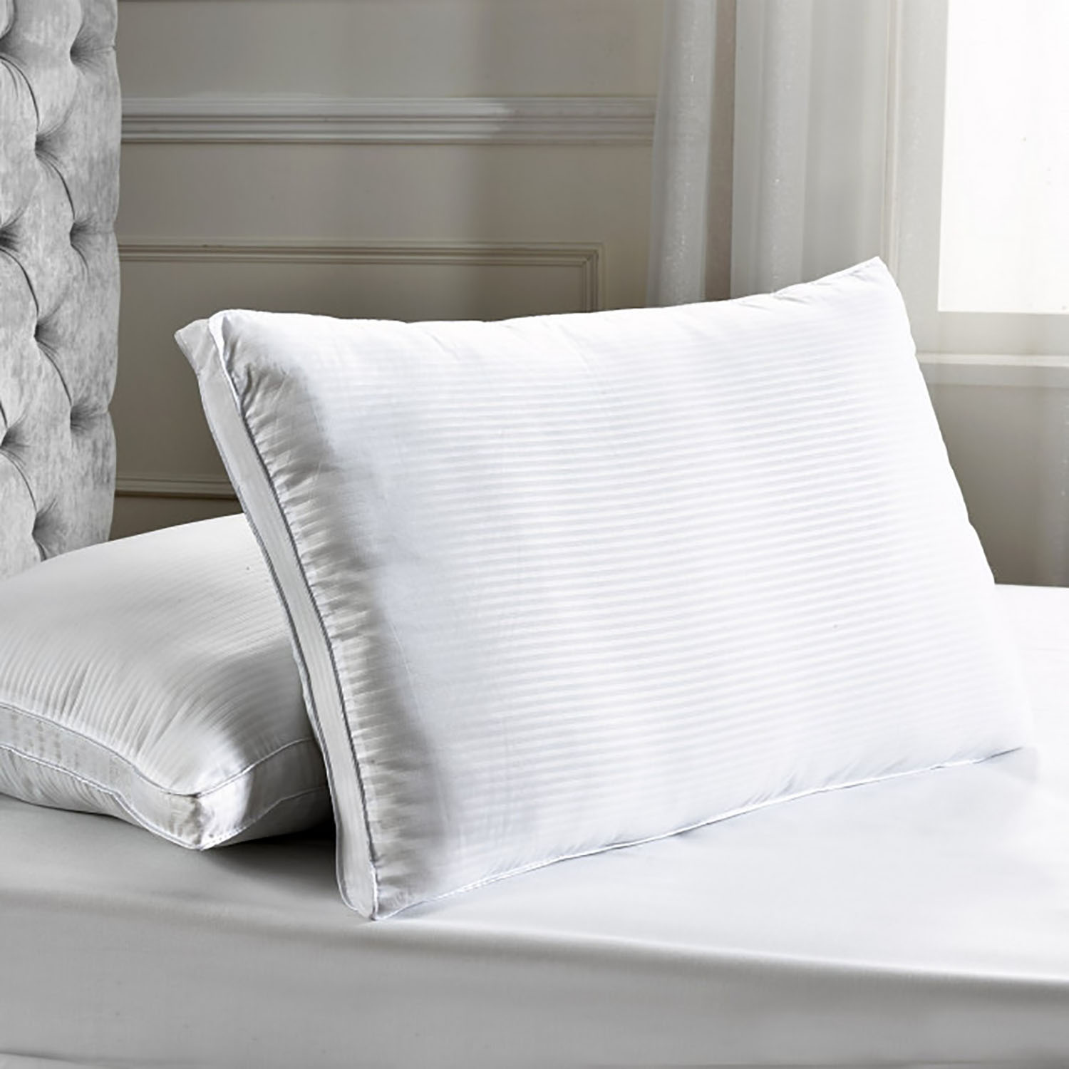 Image of Julian Charles Standard Filled Pillow, 66x66cm, White