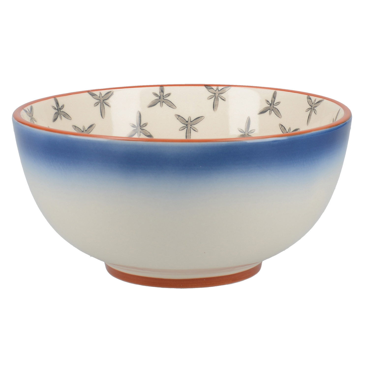 Image of Drift Cereal Bowl, Ombre Blue