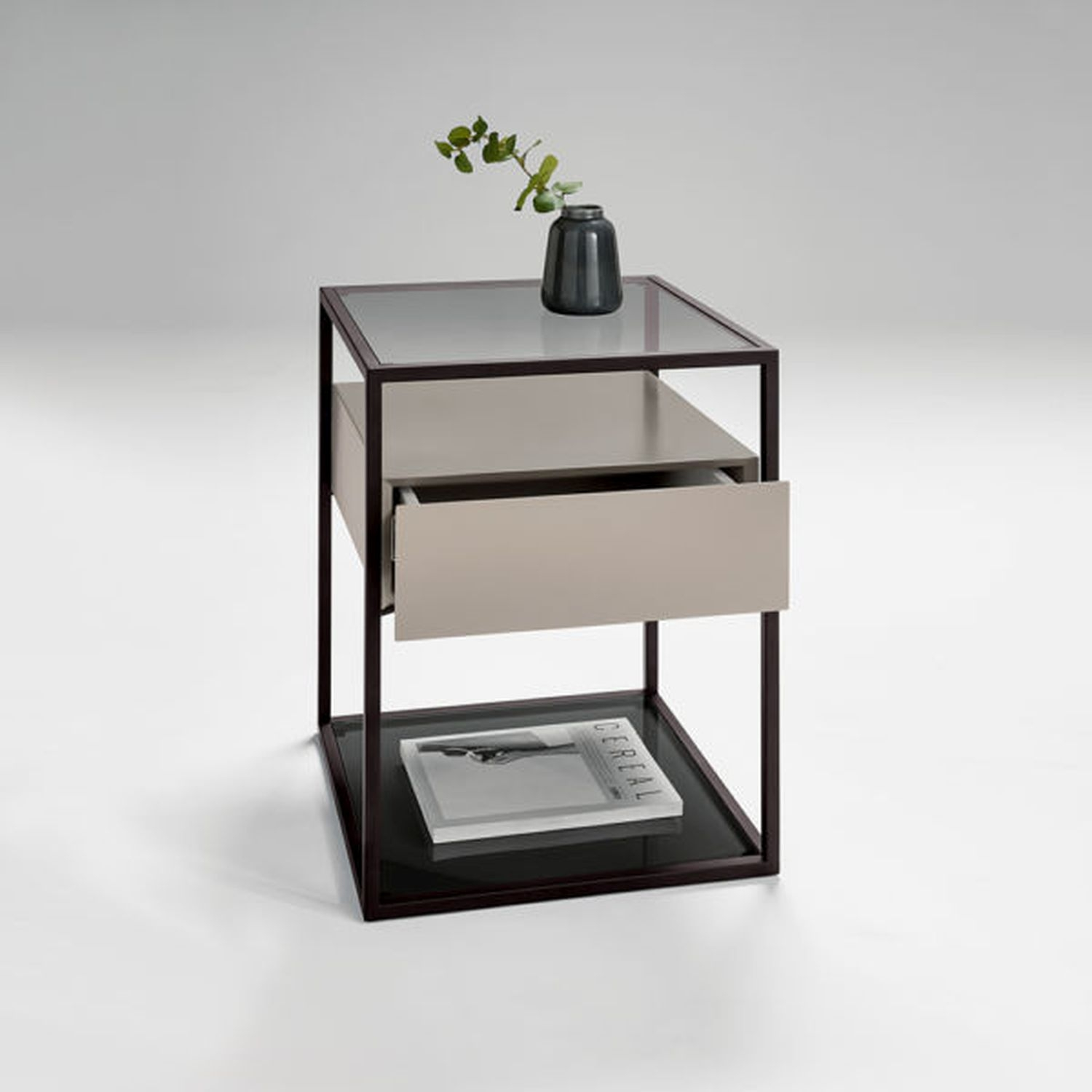 Image of Casa Tribeca Lamp Table With Drawer