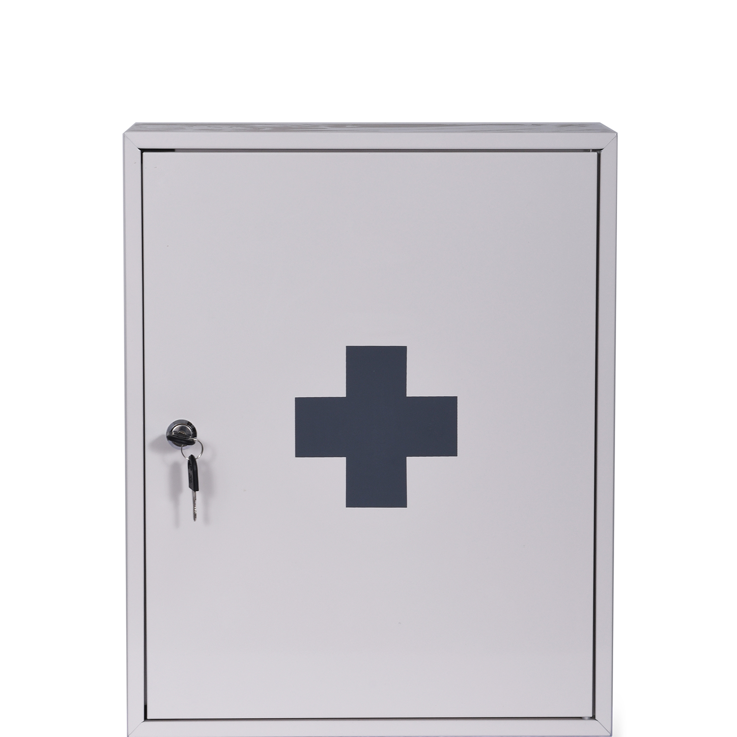Image of Garden Trading First Aid Wall Cabinet, Chalk