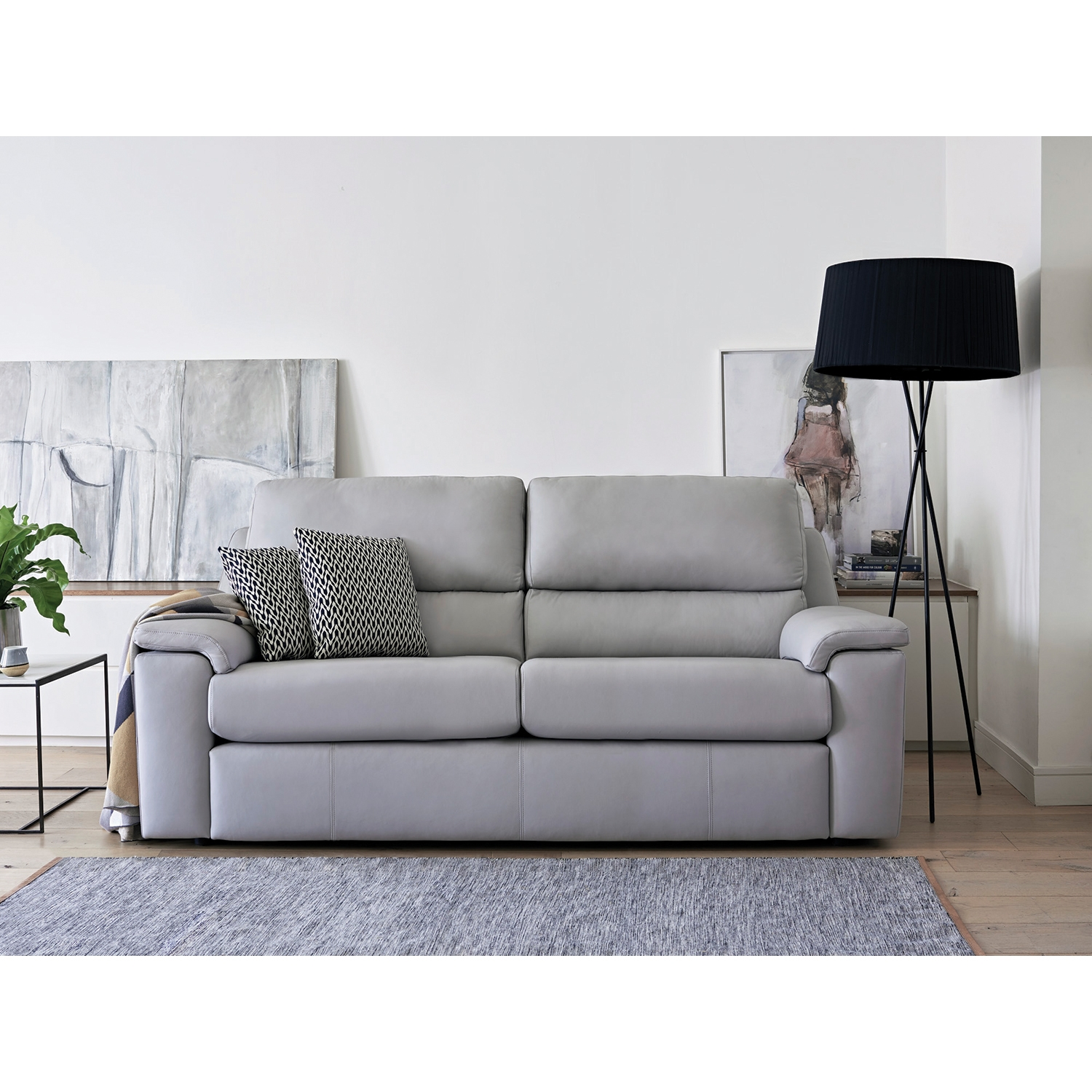 Image of G Plan Upholstery Taylor 2 Seater Leather Sofa