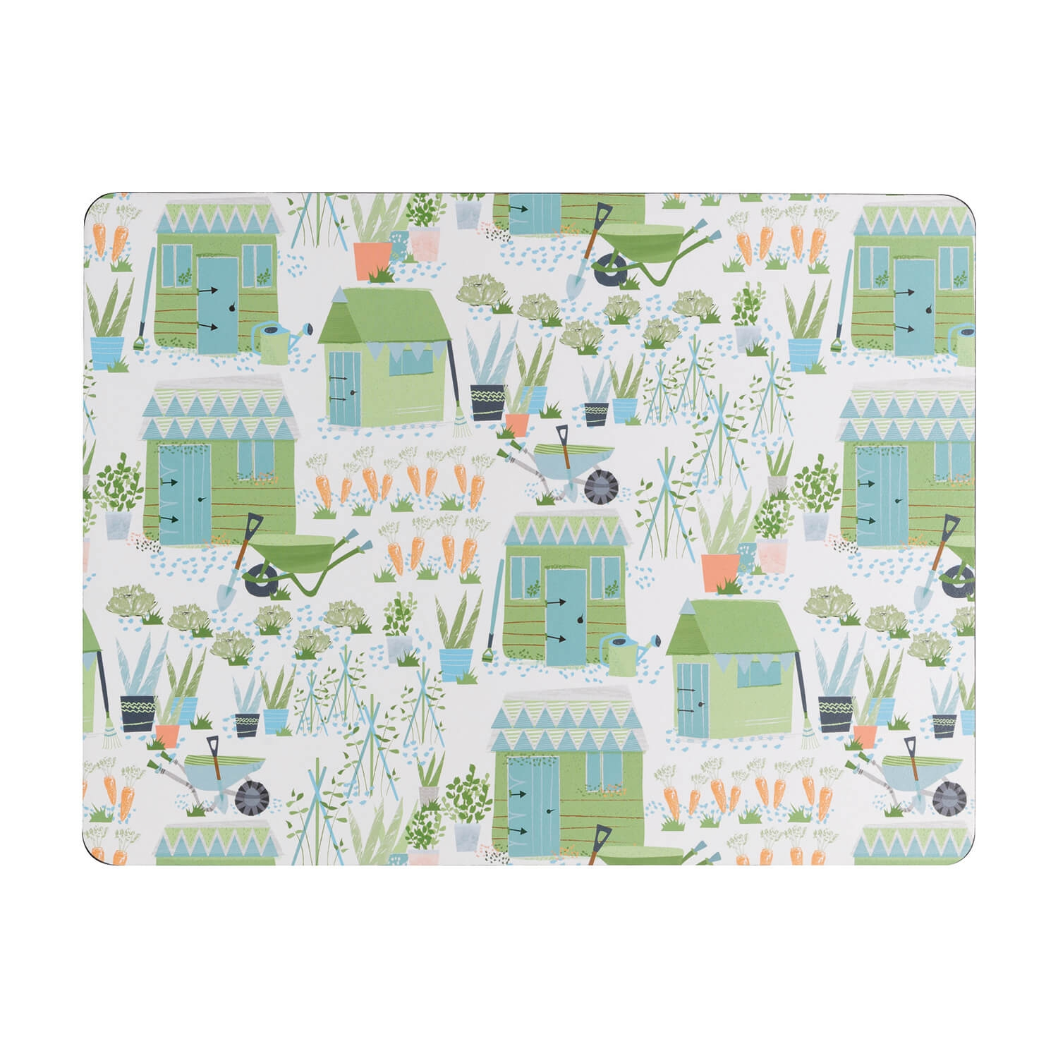 Image of Denby Allotment Placemats, Green