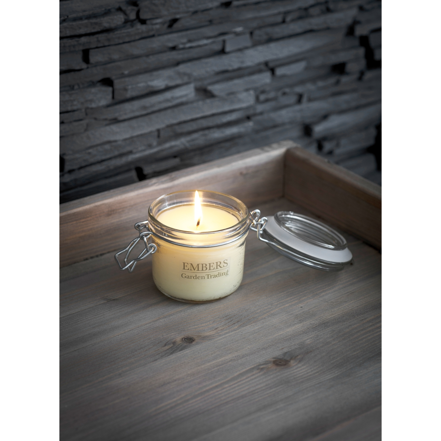 Image of Garden Trading House Candle, Embers, Glass