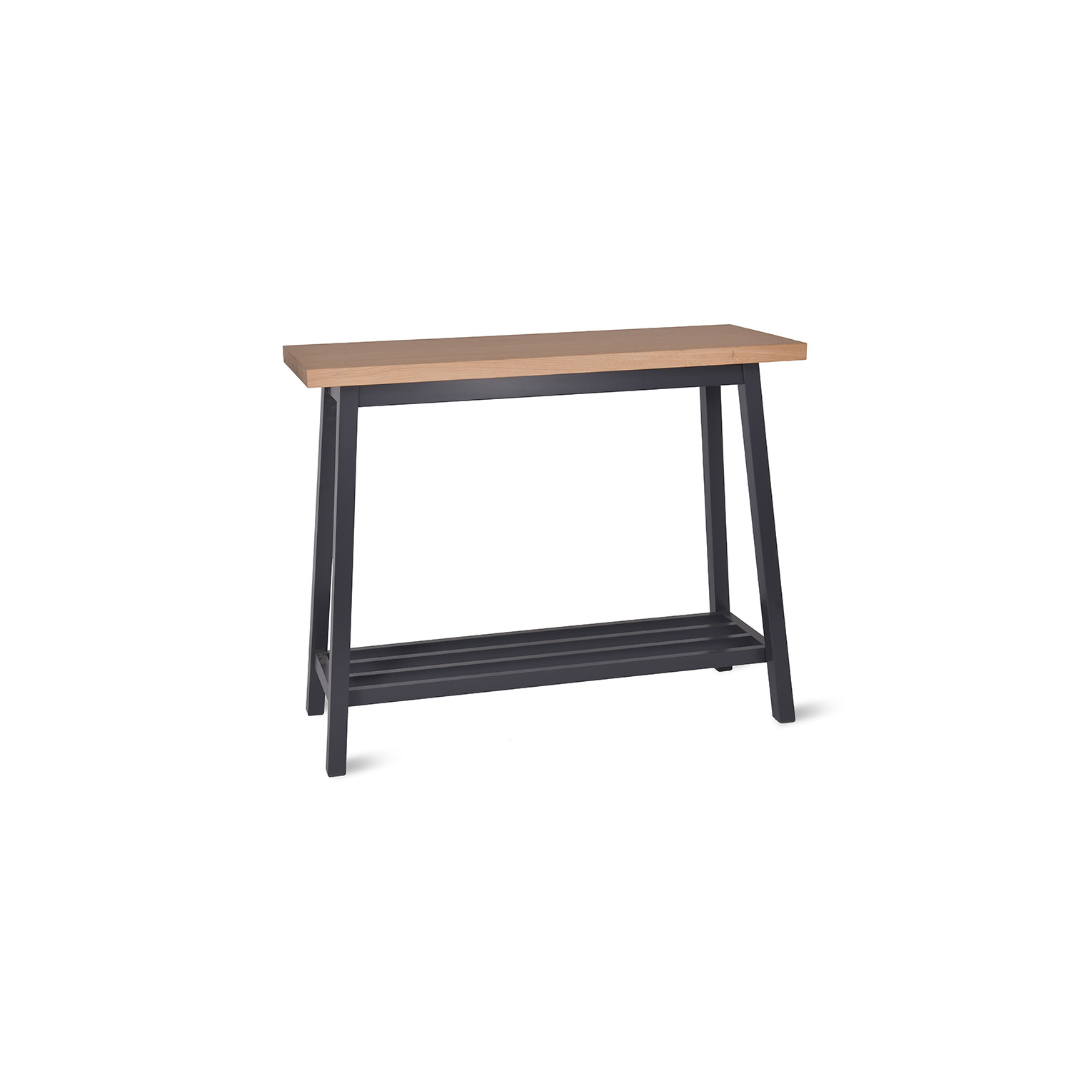Image of Garden Trading Clockhouse Console Table, Carbon