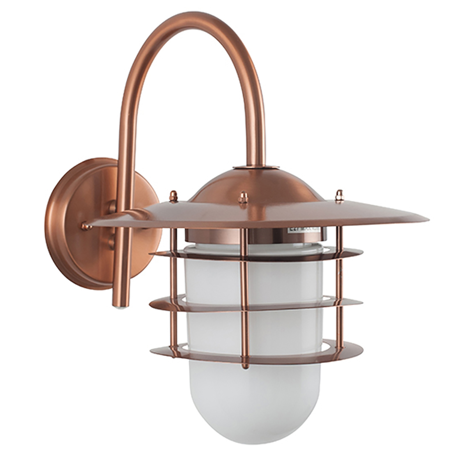 Image of Casa Hanging Outdoor Wall Light, Copper