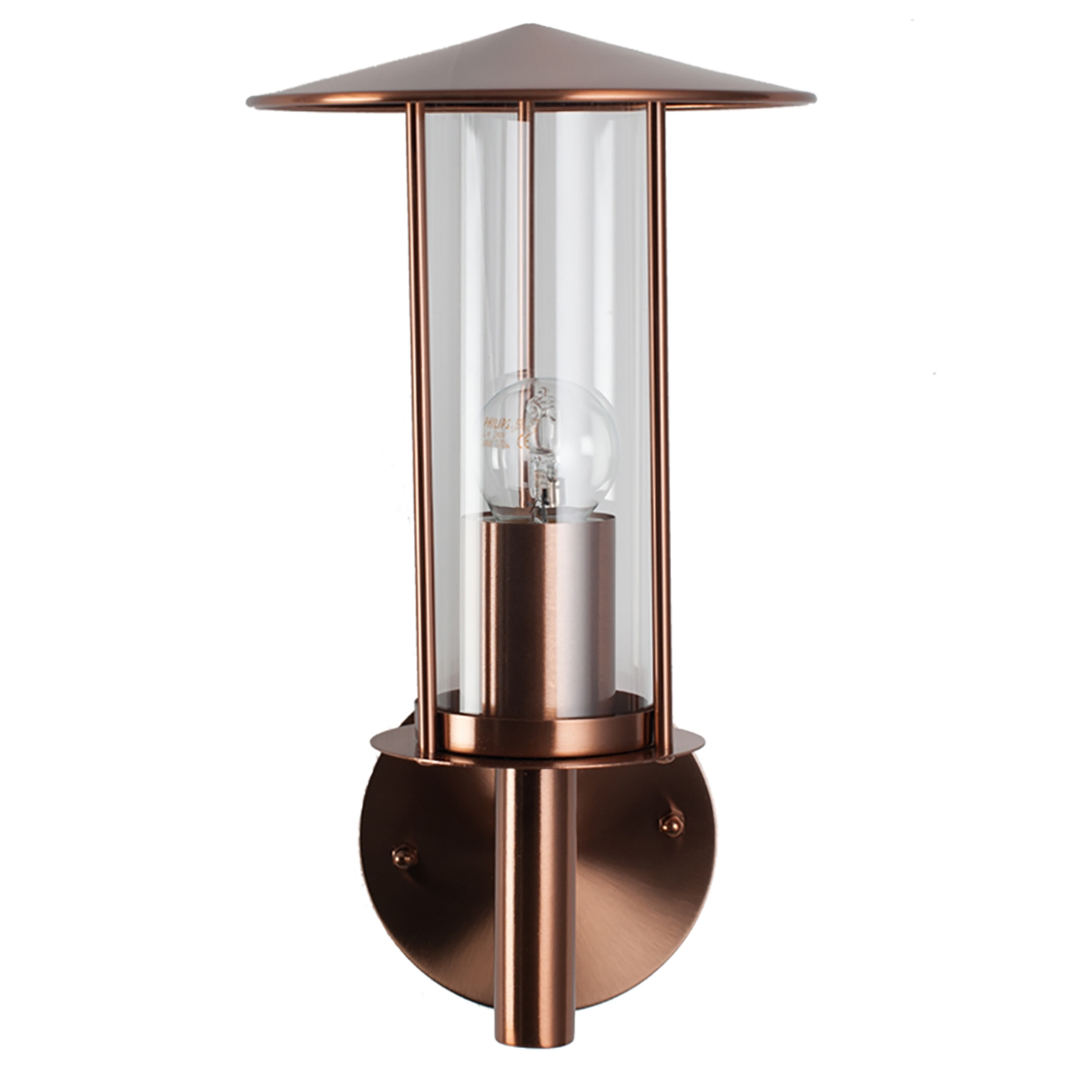 Image of Casa Outdoor Chimney Wall Light, Copper