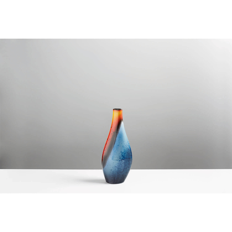 Image of Poole Pottery Flare Asymmetrical Twist Vase