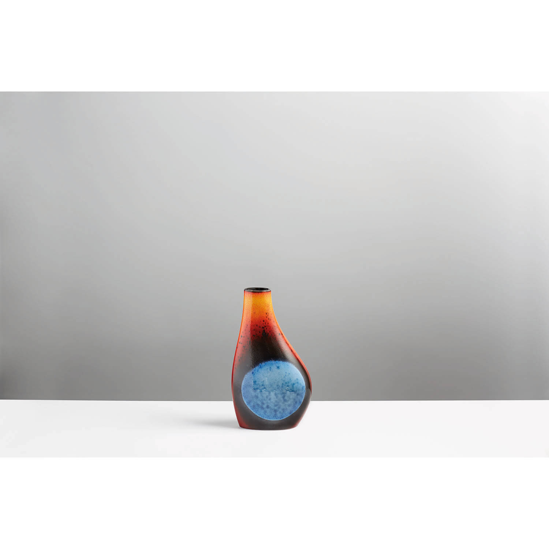 Image of Poole Pottery Flare Asymmetrical Flask Vase
