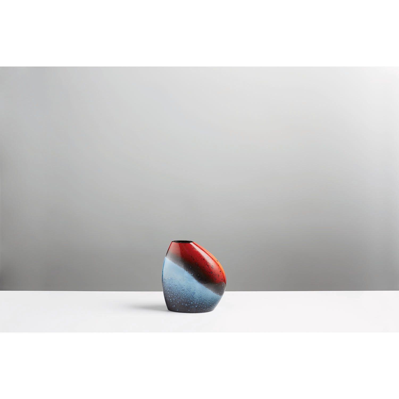 Image of Poole Pottery Flare Asymmetrical Bean Vase
