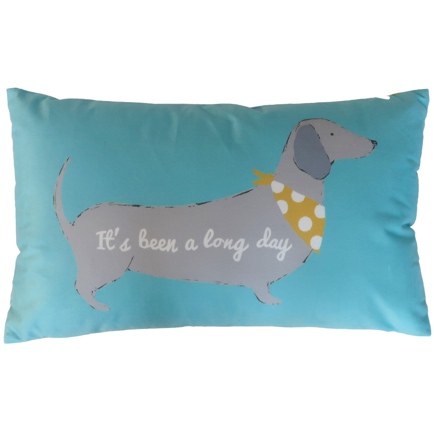 Image of Catherine Lansfield Cushion, 30cm x 50cm, Silly Sausage Dog