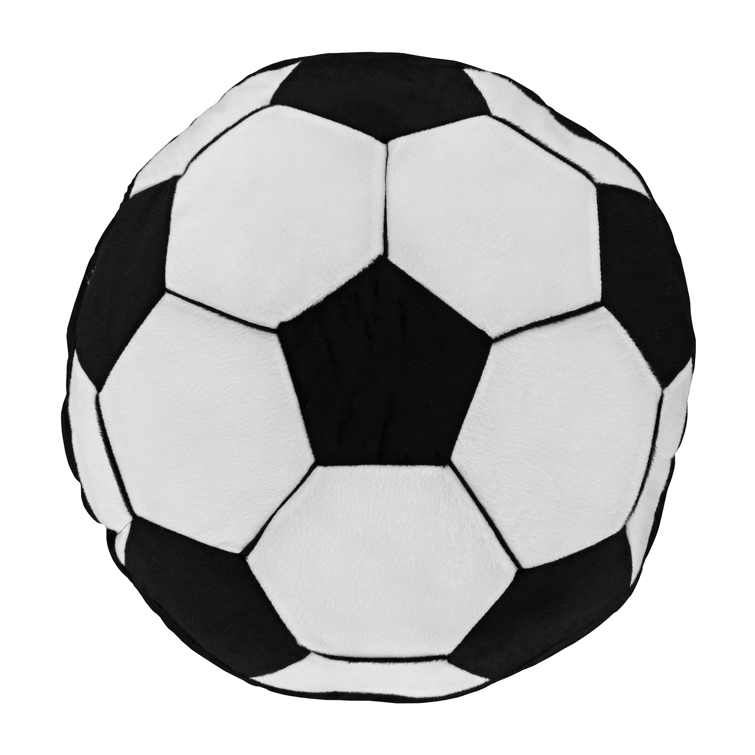 Image of Catherine Lansfield It's A Goal Cushion, 40cm x 40cm, Black