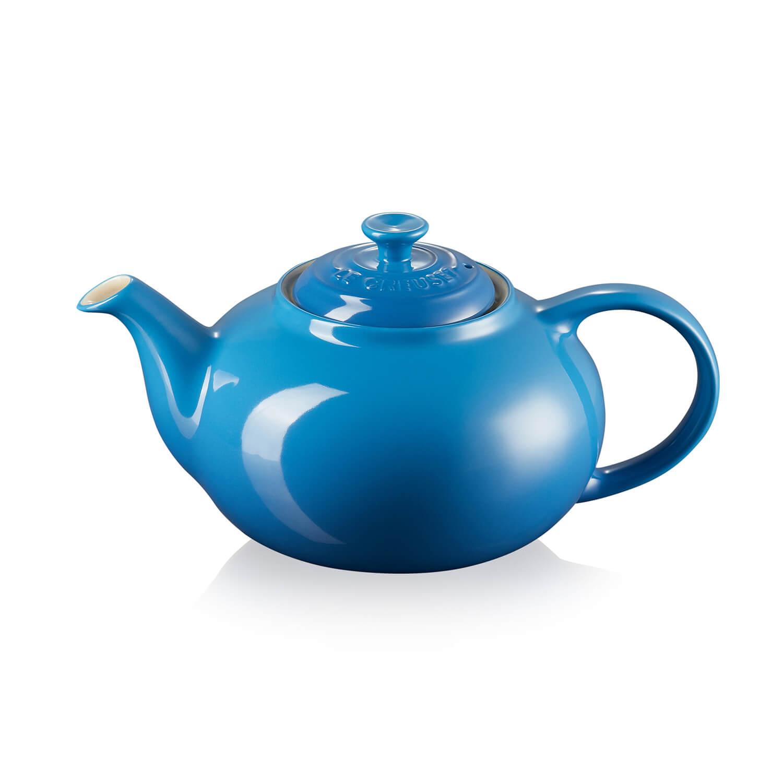 Image of Le Creuset Classic Teapot, Marseille Blue