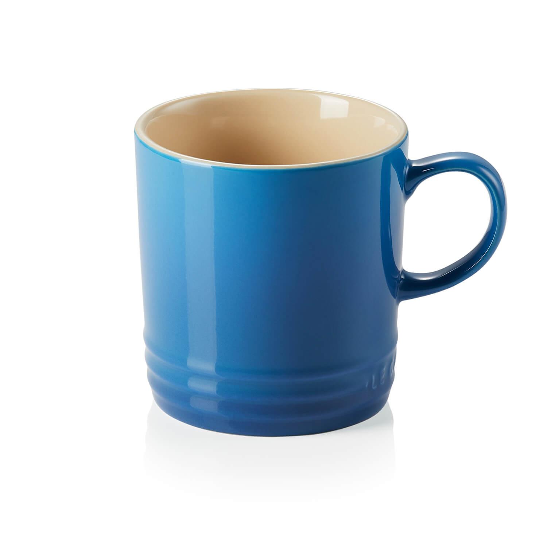 Image of Le Cresuet Stoneware Mug, Marseille Blue