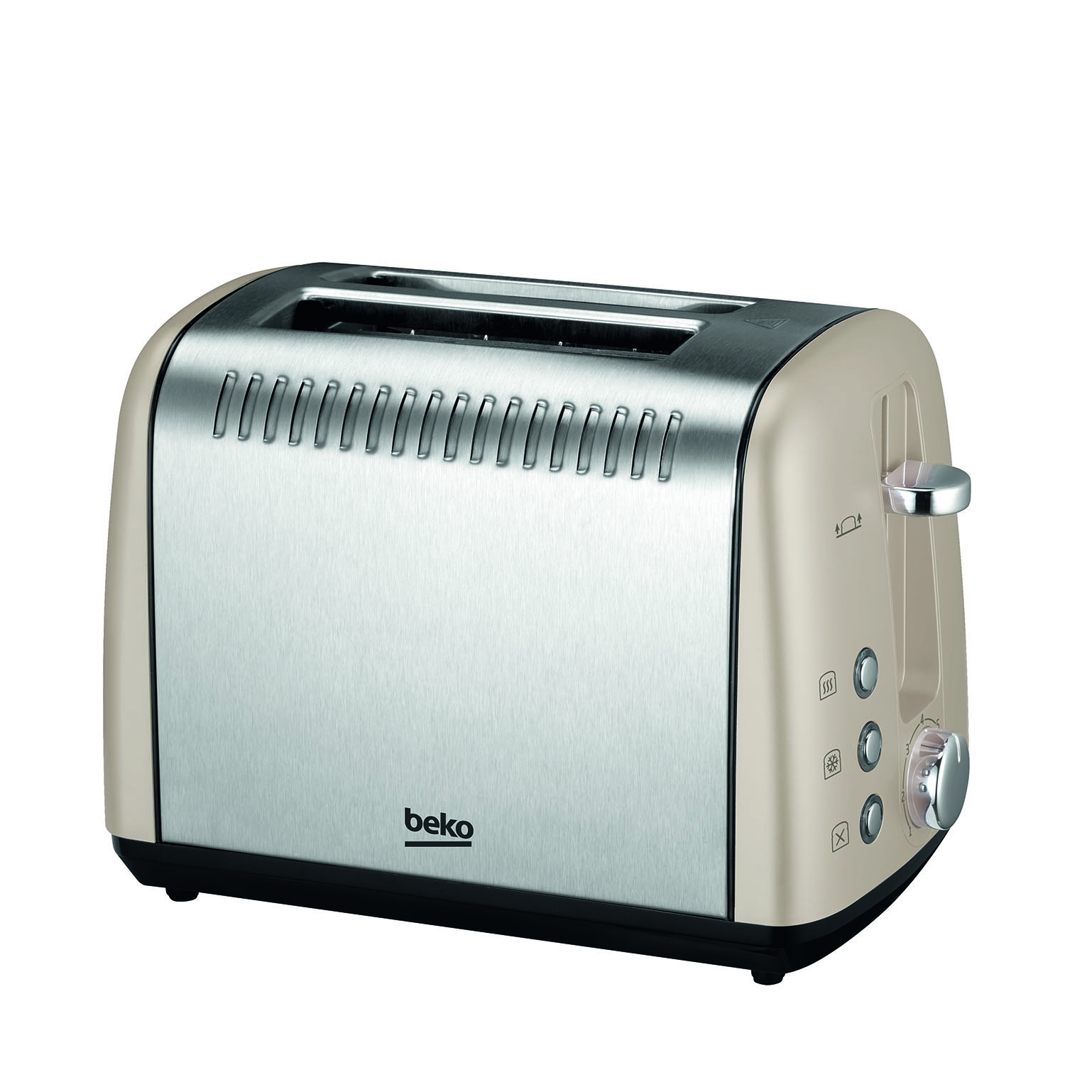Image of Beko 2 Slice Toaster, Champagne