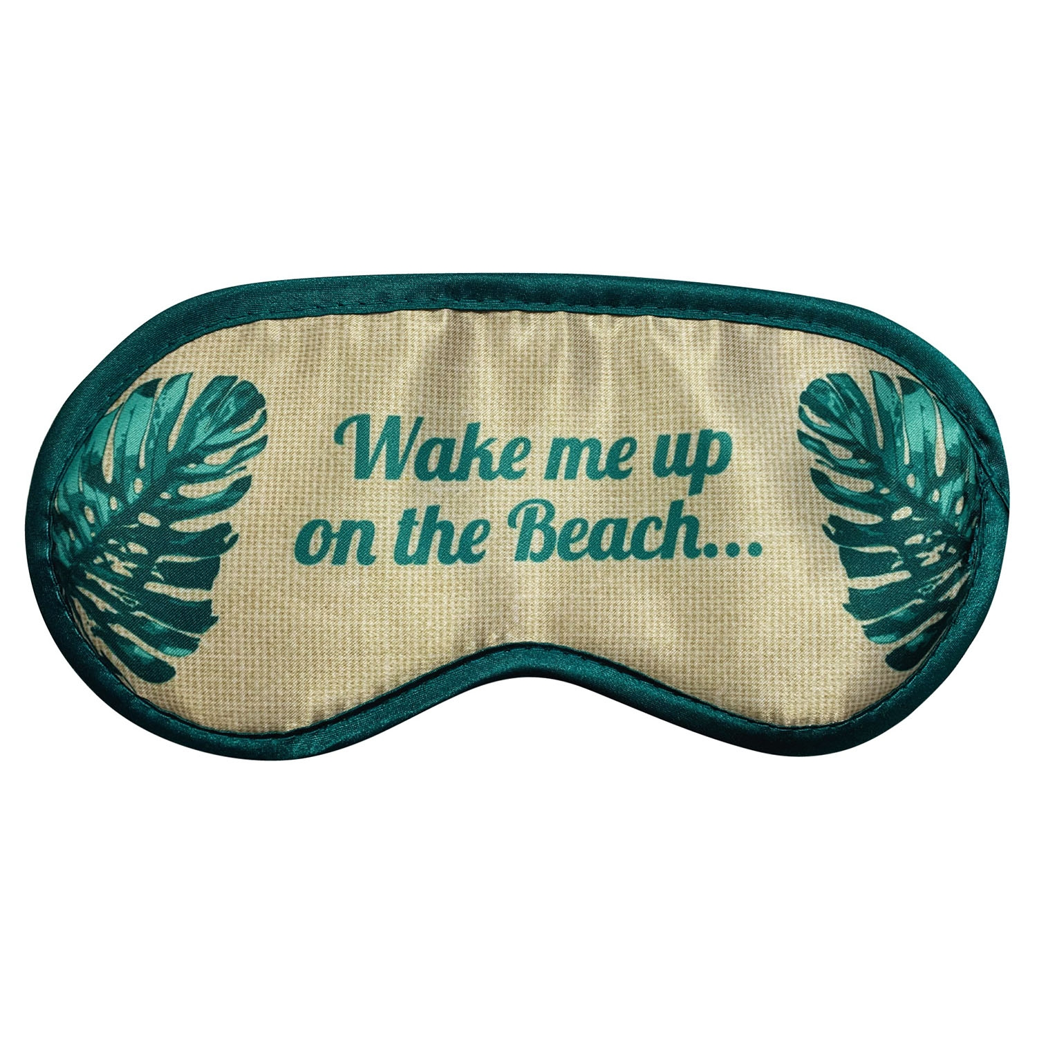 Image of Danielle Creations Tropical Palm 'Wake me up on the Beach' Eye Mask