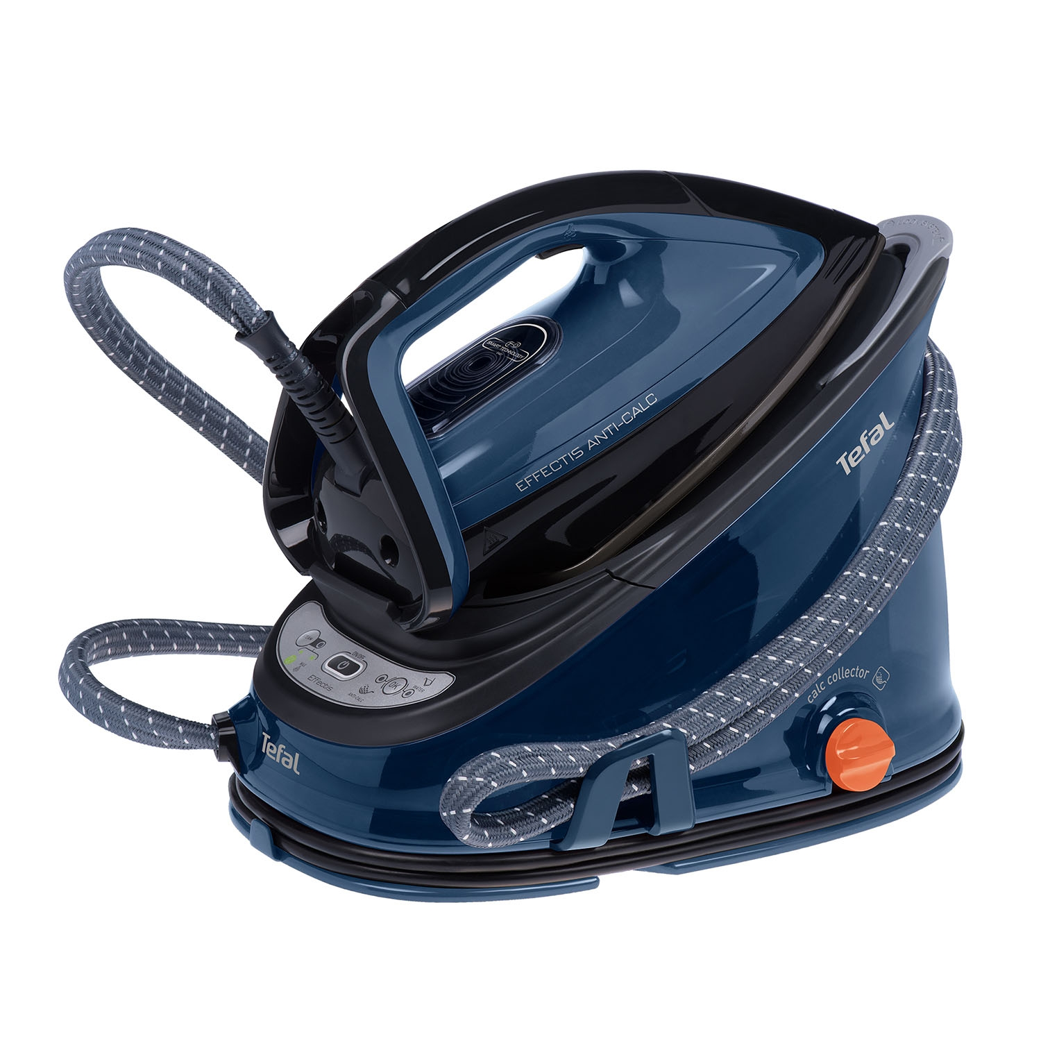 Image of Tefal GV6840 Effectis Anti Scale Steam Generator, Blue