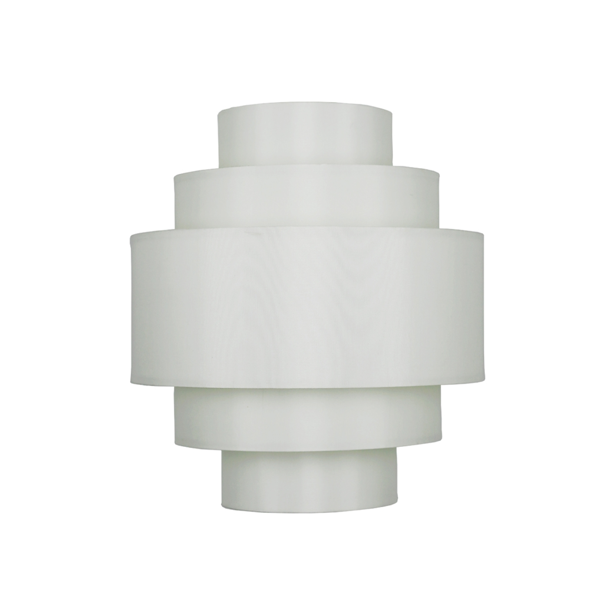 Image of Casa Bandeau 5 Tier Ceiling Shade, Cream