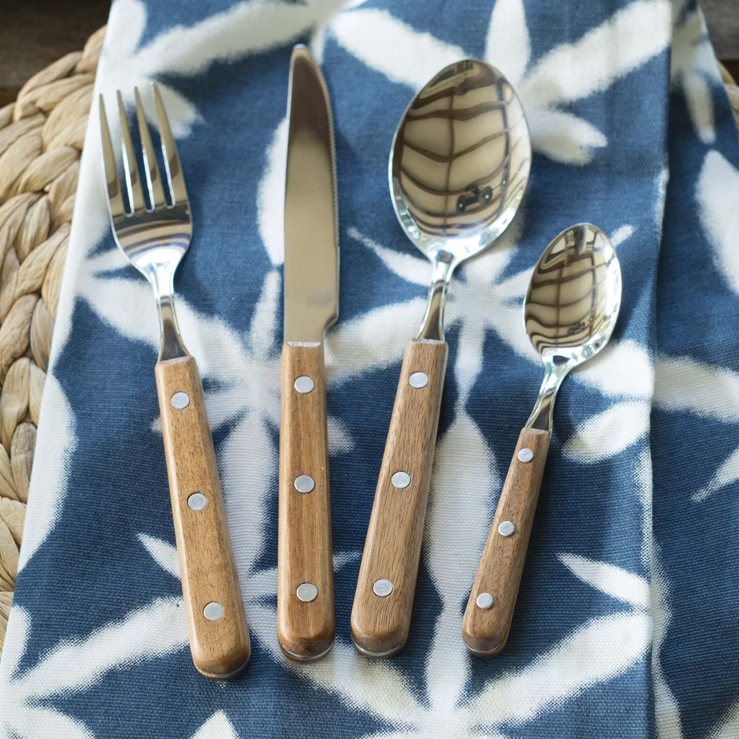 Image of Drift 16 Piece Cutlery Set, Stainless Steel