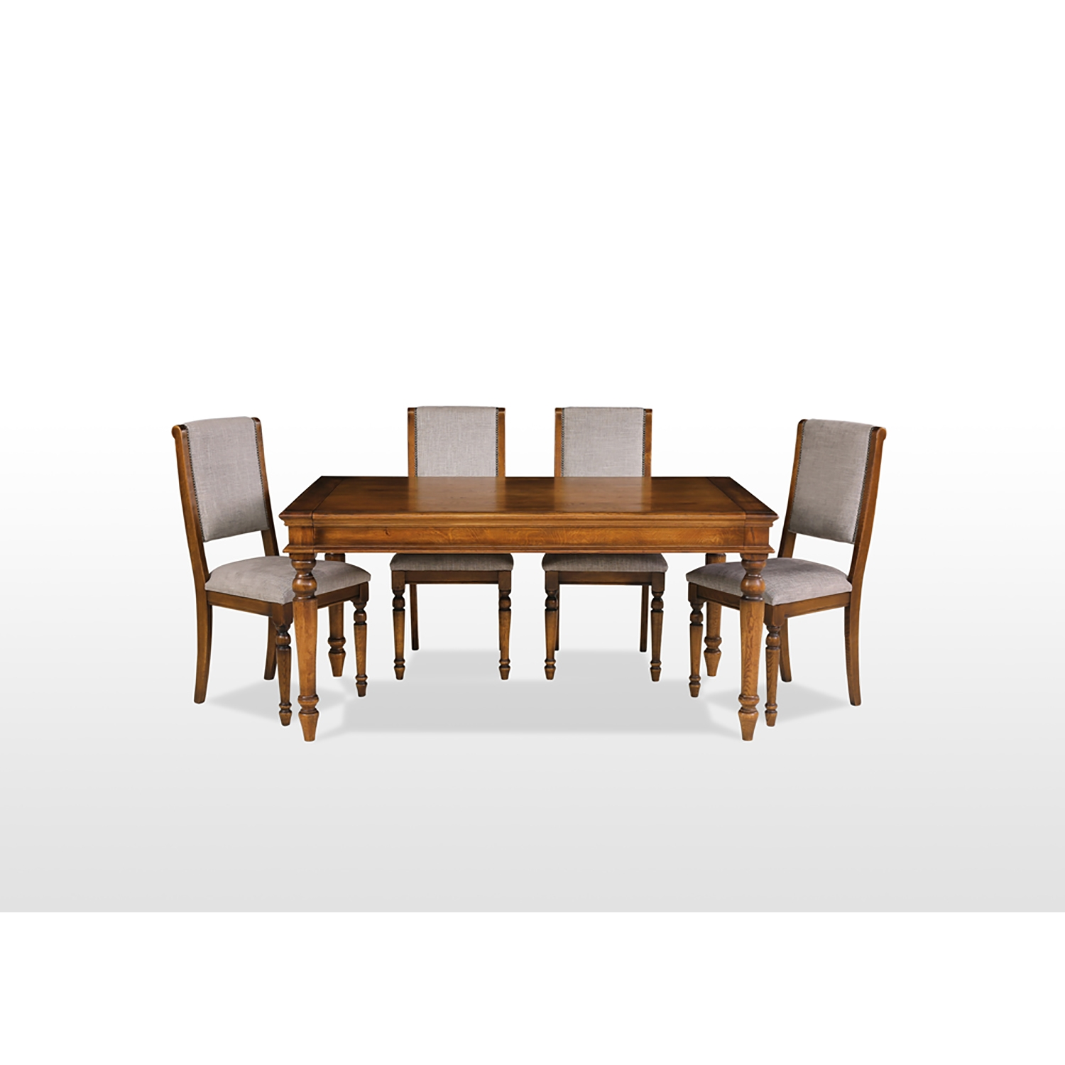 Image of Rochford Extending Table & 6 Chairs Dining Set