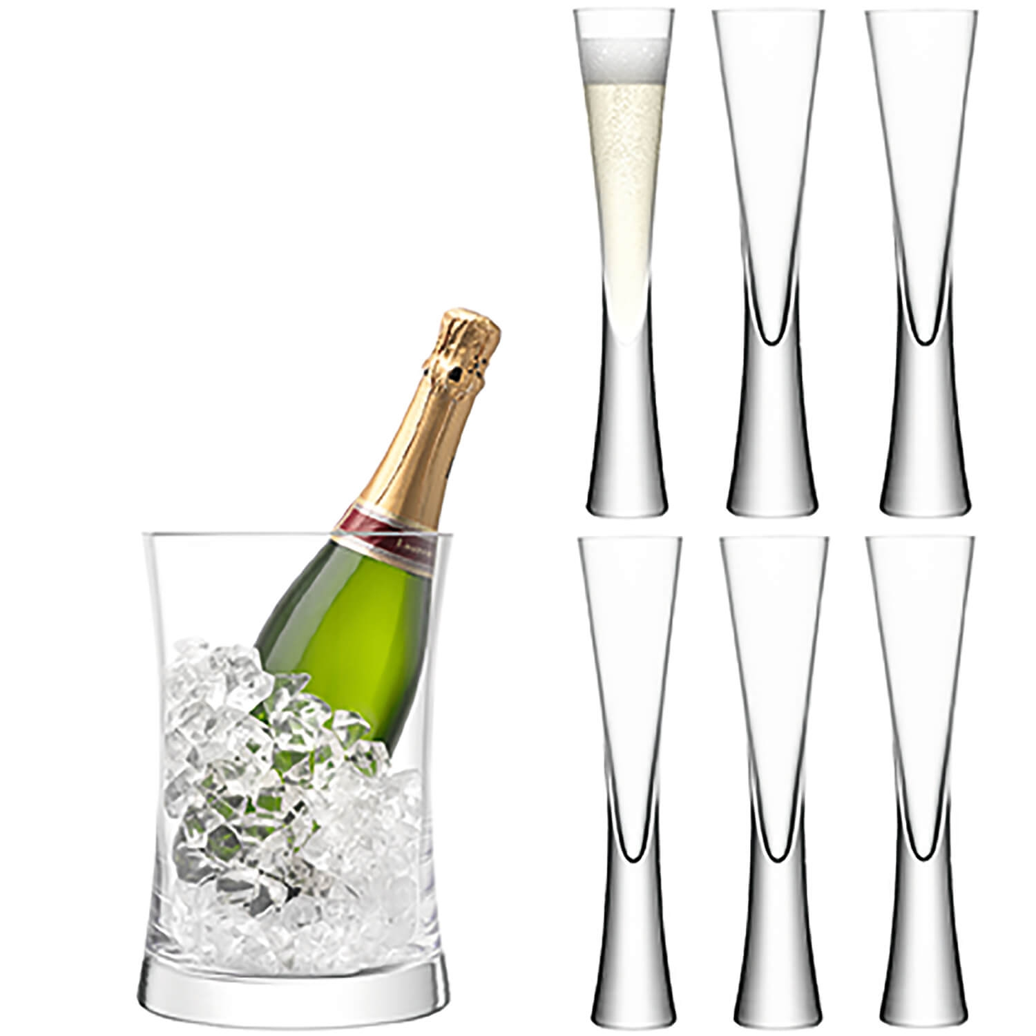 Image of Lsa Moya Champagne Serving Set With Bucket