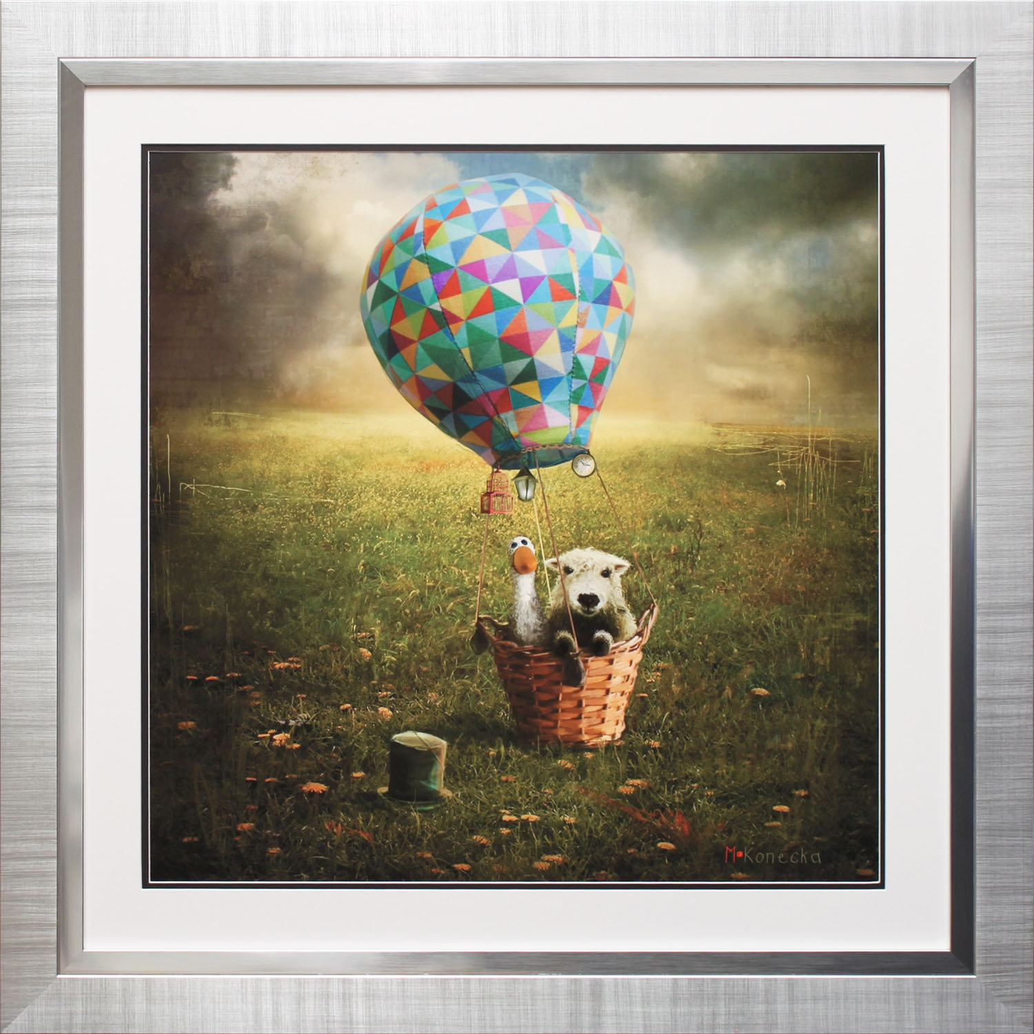 Image of Complete Colour Best Friends Framed Print