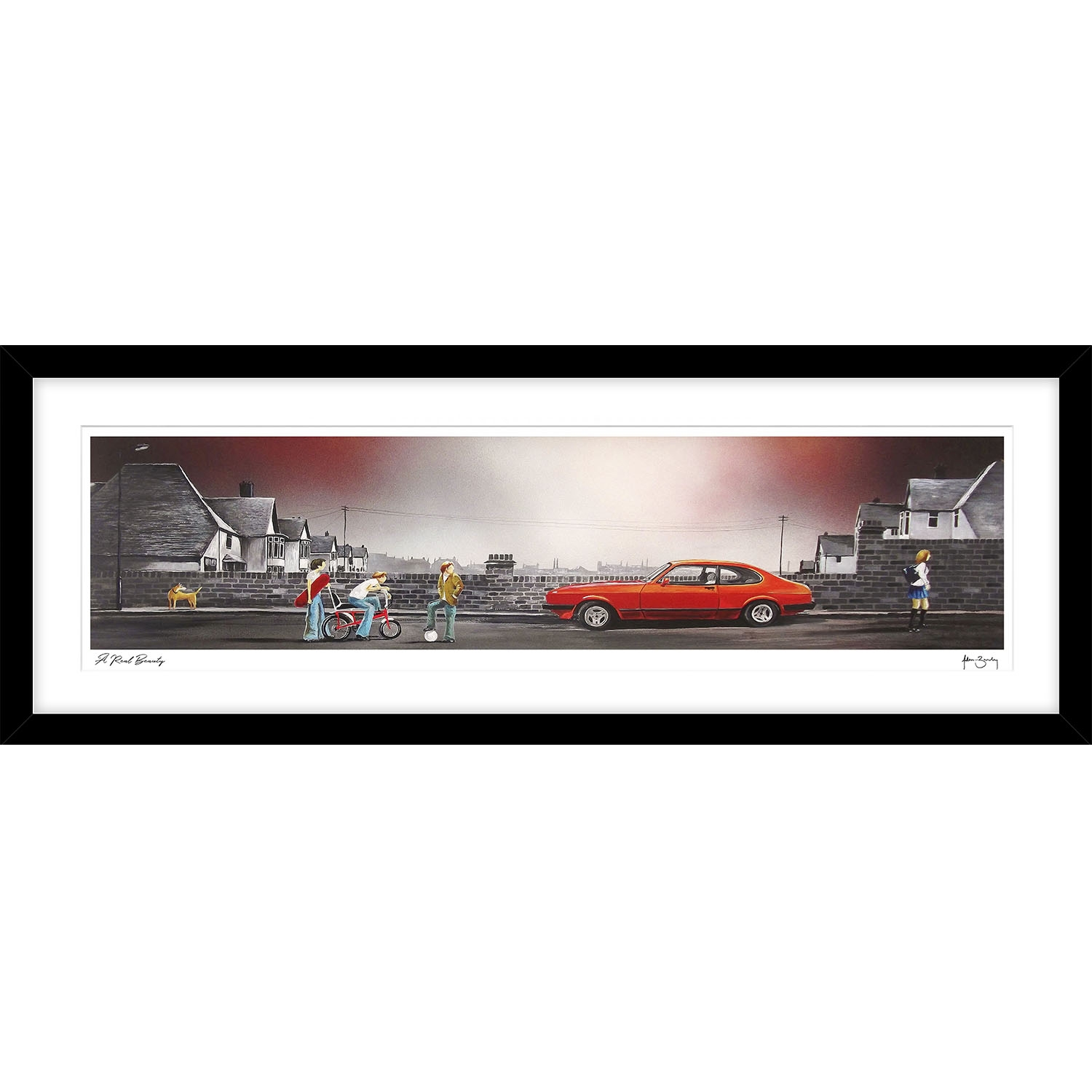 Image of A Real Beauty By Adam Barsby, Framed Picture