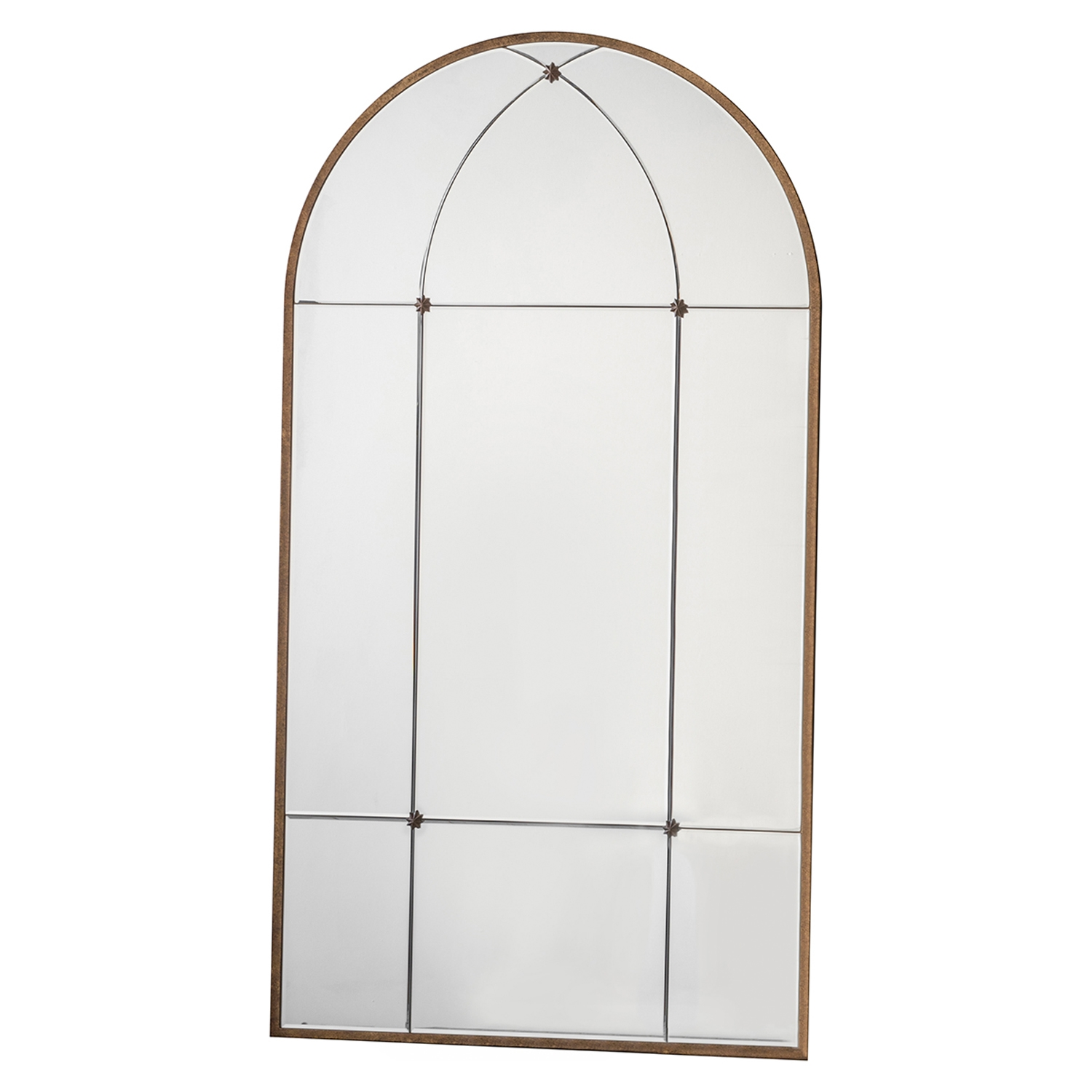 Image of Gallery Ariah Arched Mirror, Bronze