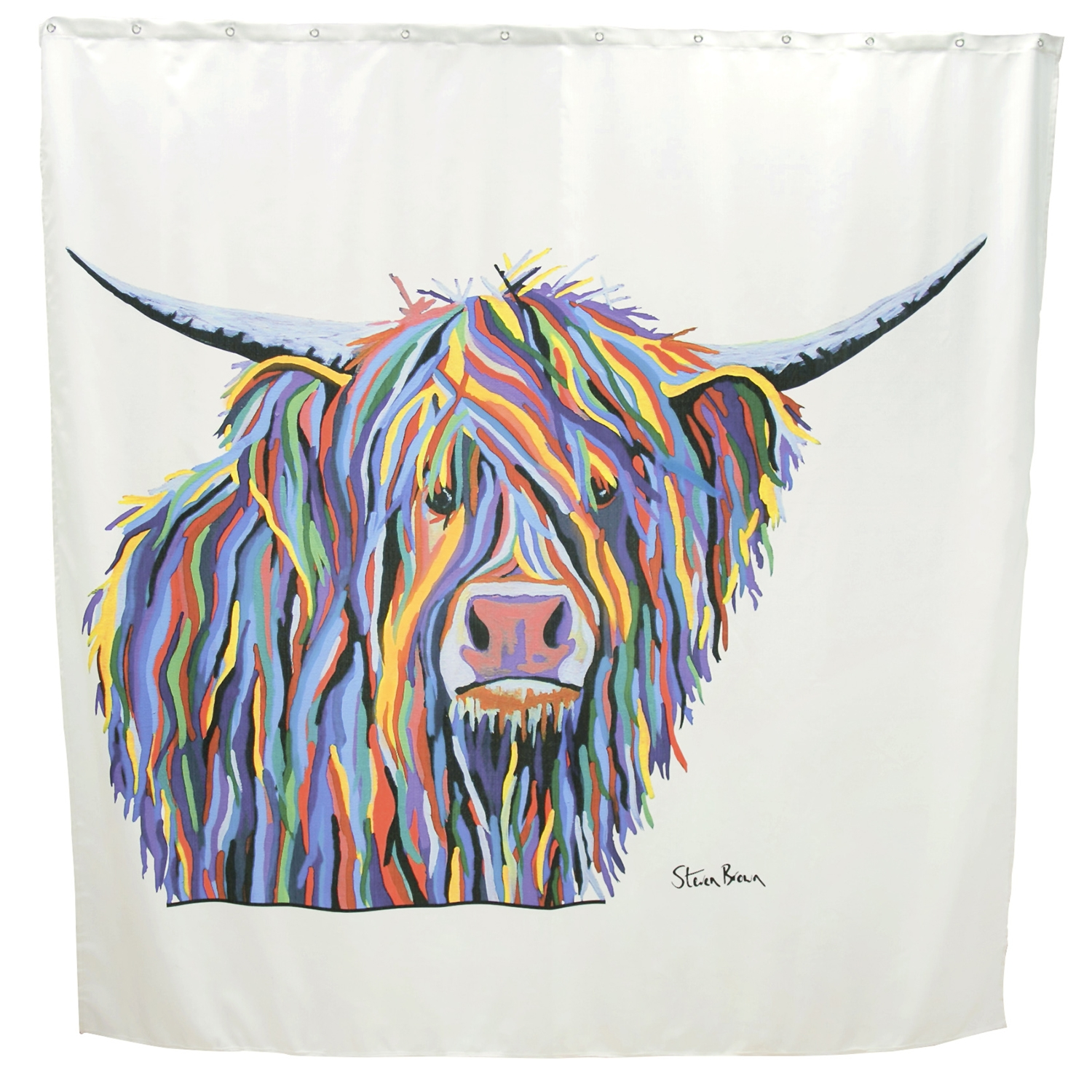 Image of Angus Mccoo Shower curtain