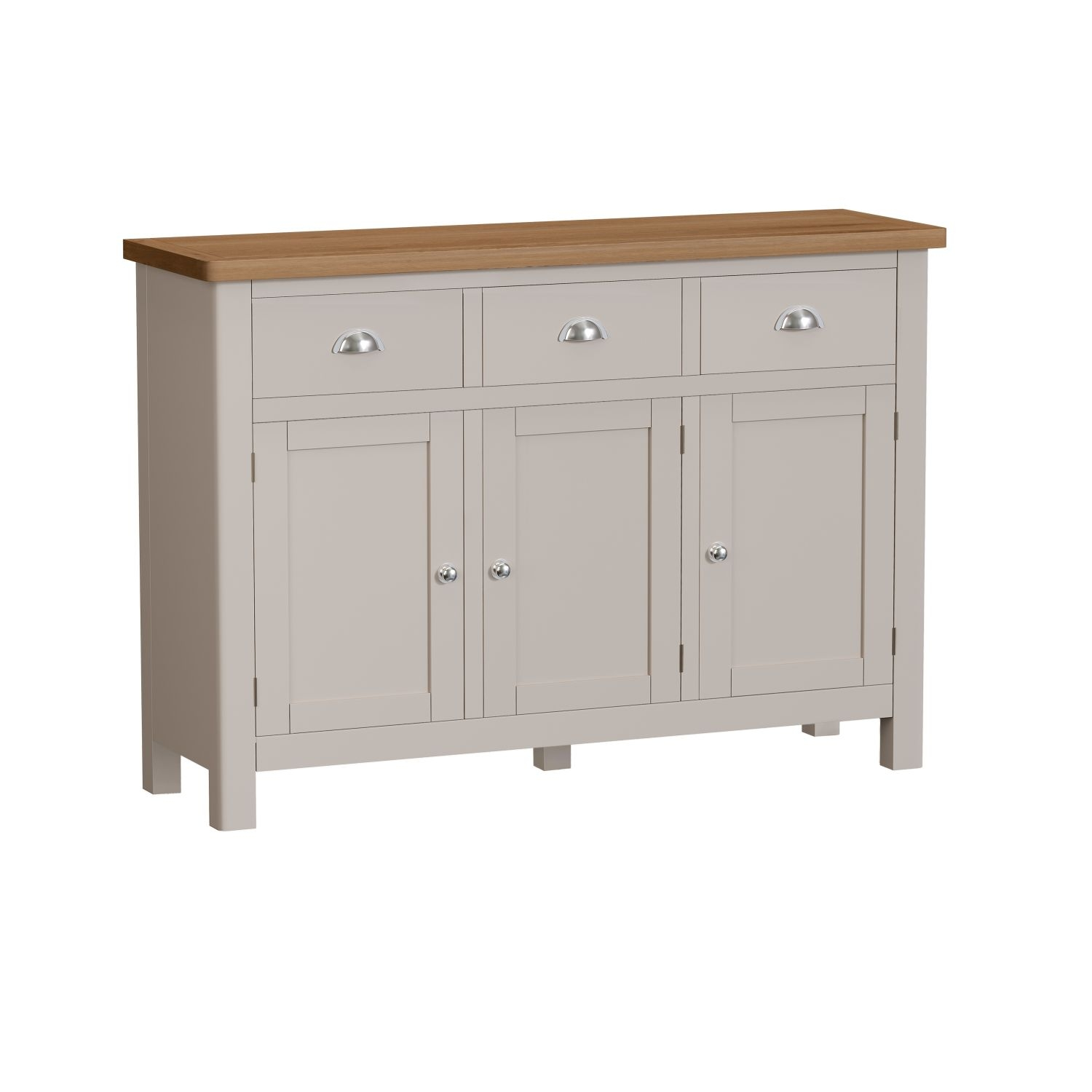 Image of Casa Portland Large 3 Door Sideboard