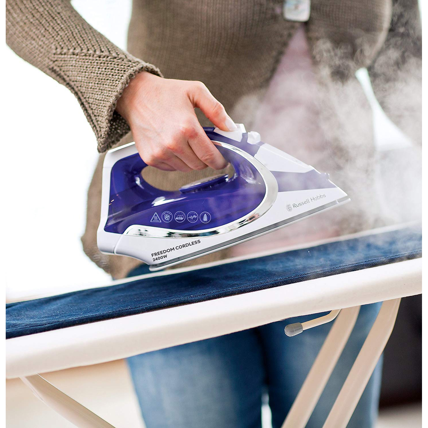 Image of Russell Hobbs Freedom Cordless Steam Iron