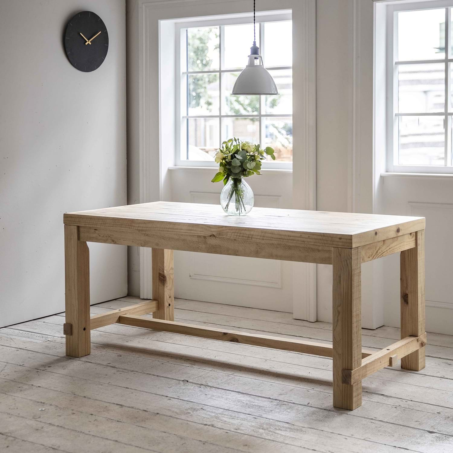 Image of Garden Trading Brookville Table, Small, Pine