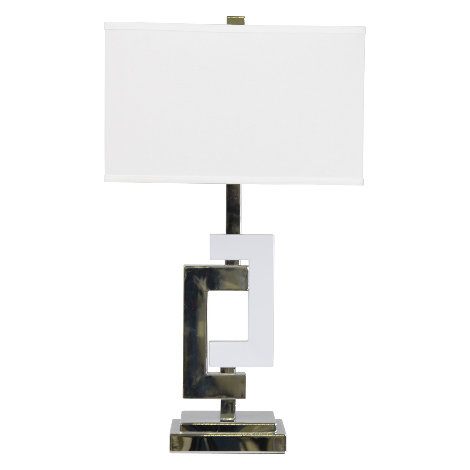 Image of Casa Fulham Table Lamp, Silver