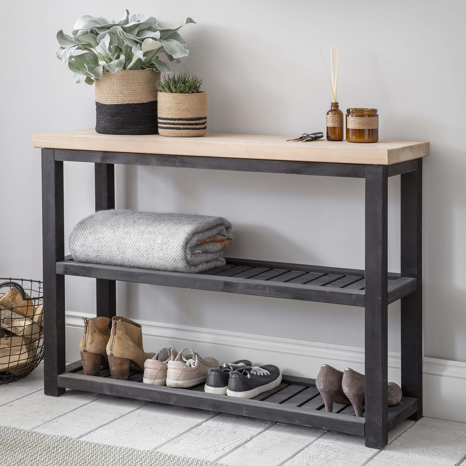 Image of Garden Trading Notgrove Console Table, Spruce