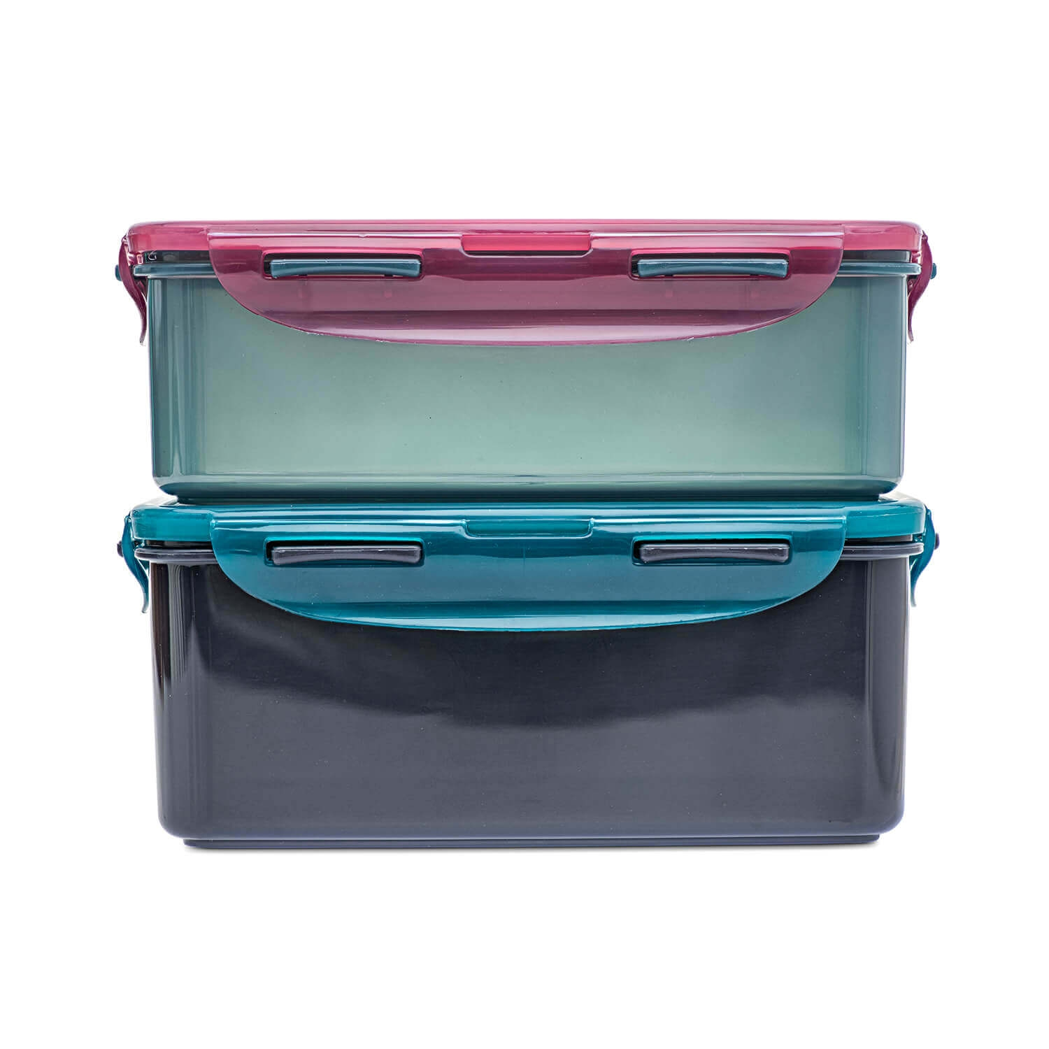 Image of Lock And Lock Eco 2 Piece Food Container Set, Assorted