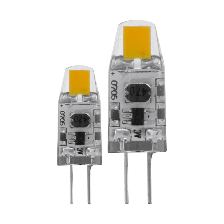 Image of Eglo 1.2W G4-LED 2700K Lightbulb 2 Pack