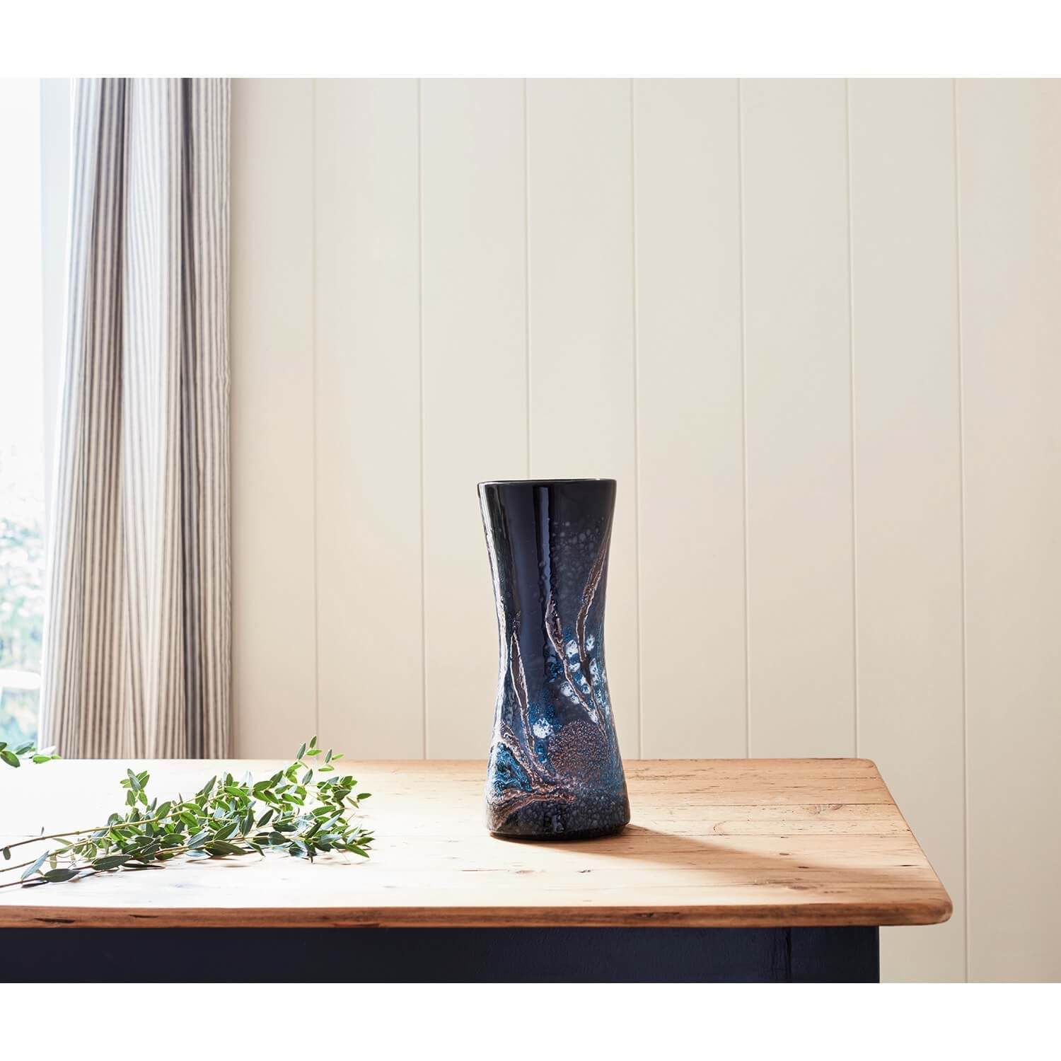 Image of Poole Pottery Celestial Hourglass Vase