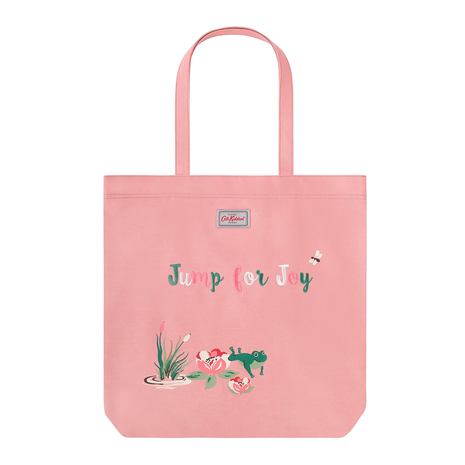 Image of Cath Kidston Frog Perfect Shopper, Pink