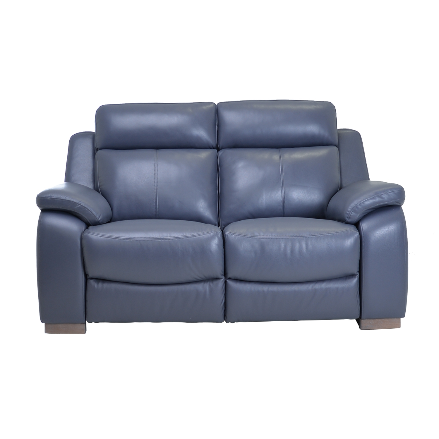 Image of Casa Alabama 2 Seater Leather Power Recliner, Lavender Grey