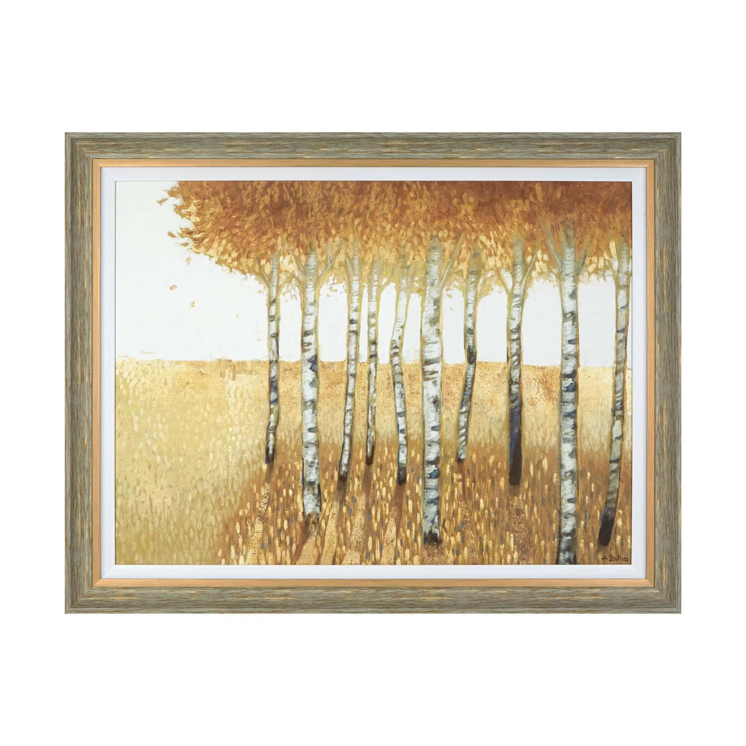 Image of Anthony Del Rizzo Sunset Walk Framed Print