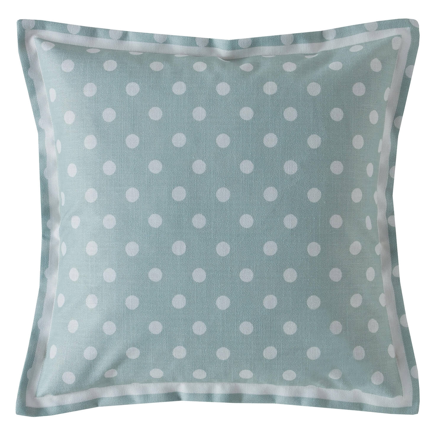 Image of Cath Kidston Button Spot Cushion, Mint