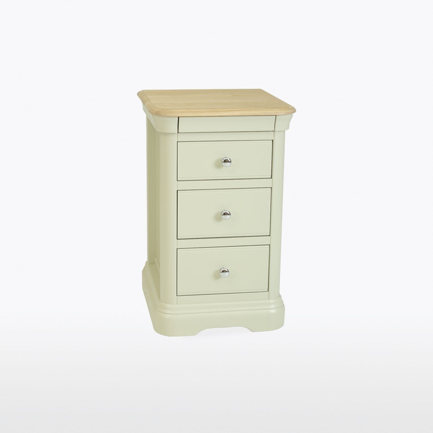 Image of Casa Cherbourg 3 Drawer Bedside Chest