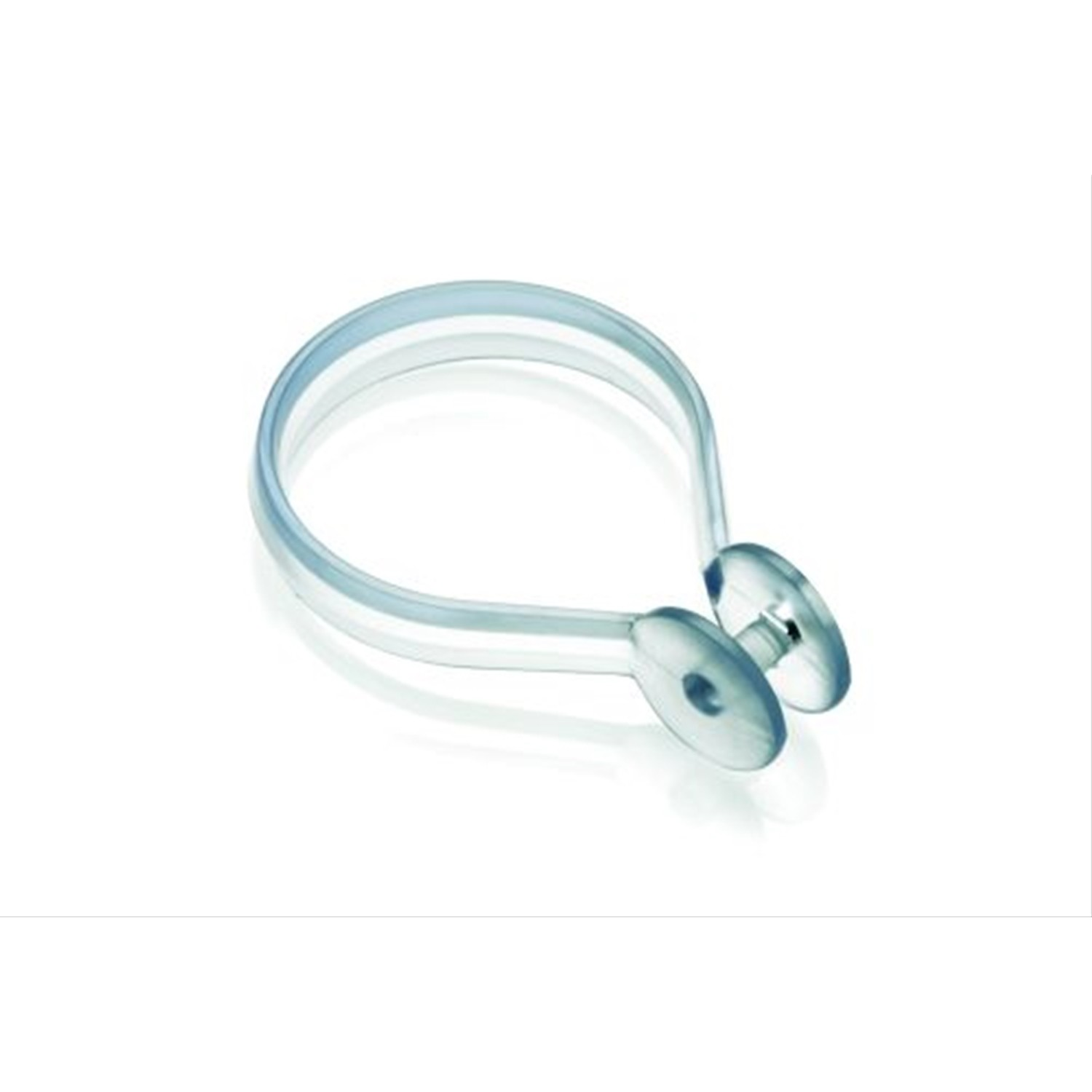 Croydex Shower Curtain Rings 12 Pack Clear