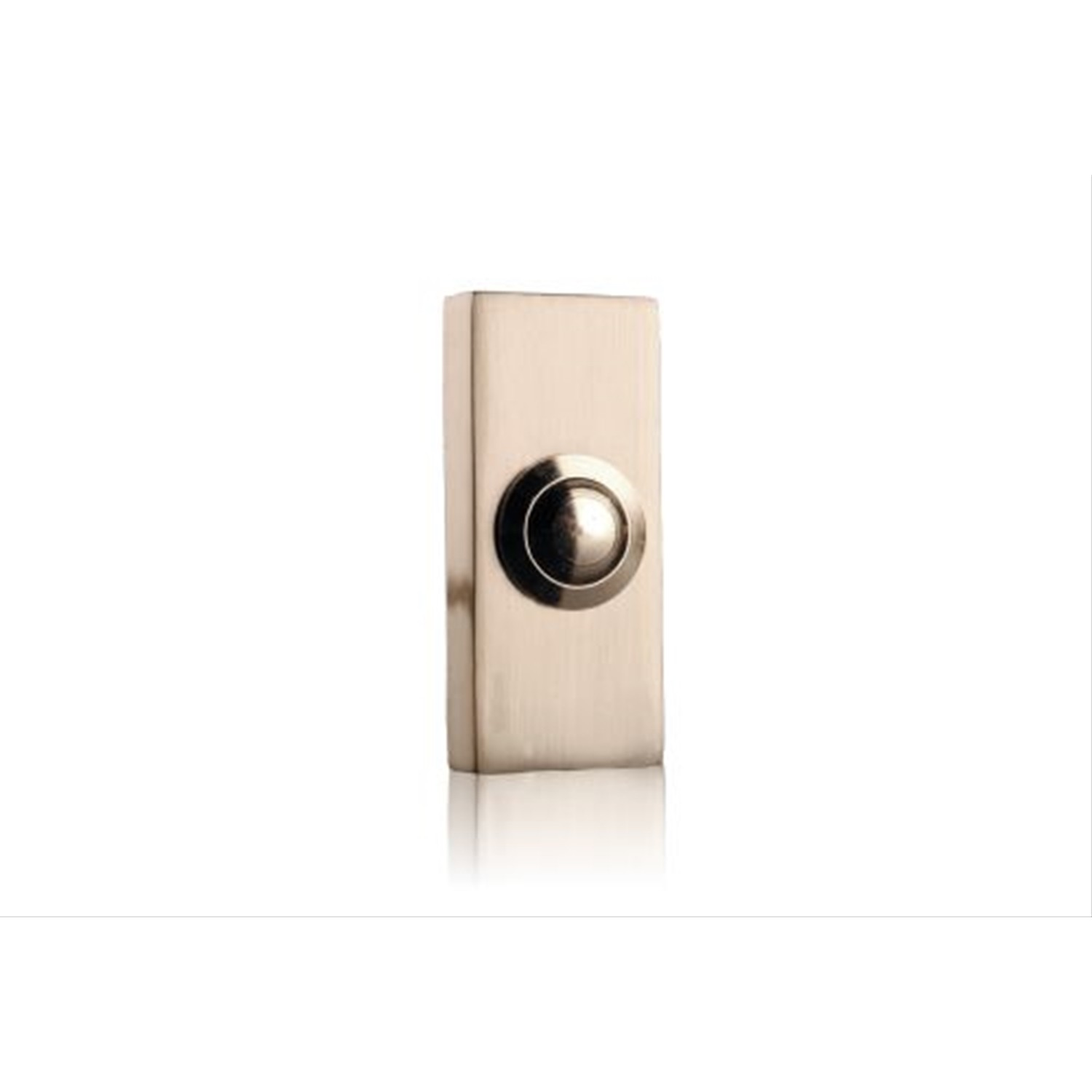 Byron 2204BN wired bell push Nickel finish Metal