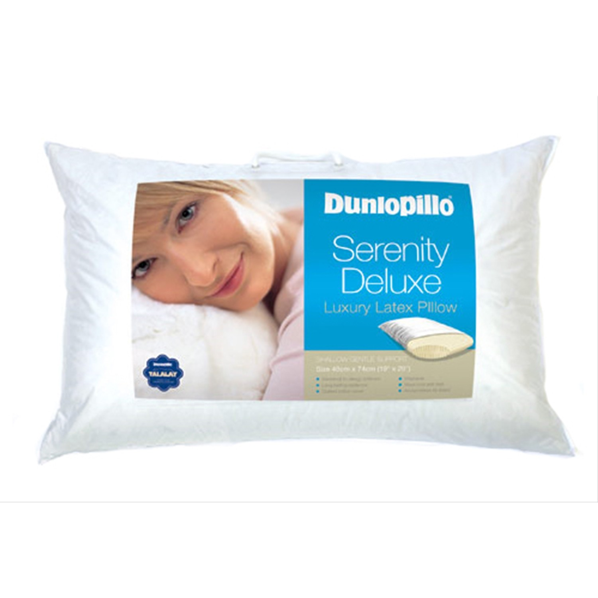 Dunlopillo Serenity Deluxe Pillow Leekes