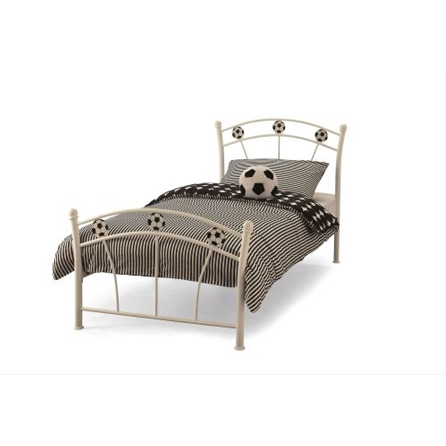 Casa soccer small single bed frame leekes for Small single bed