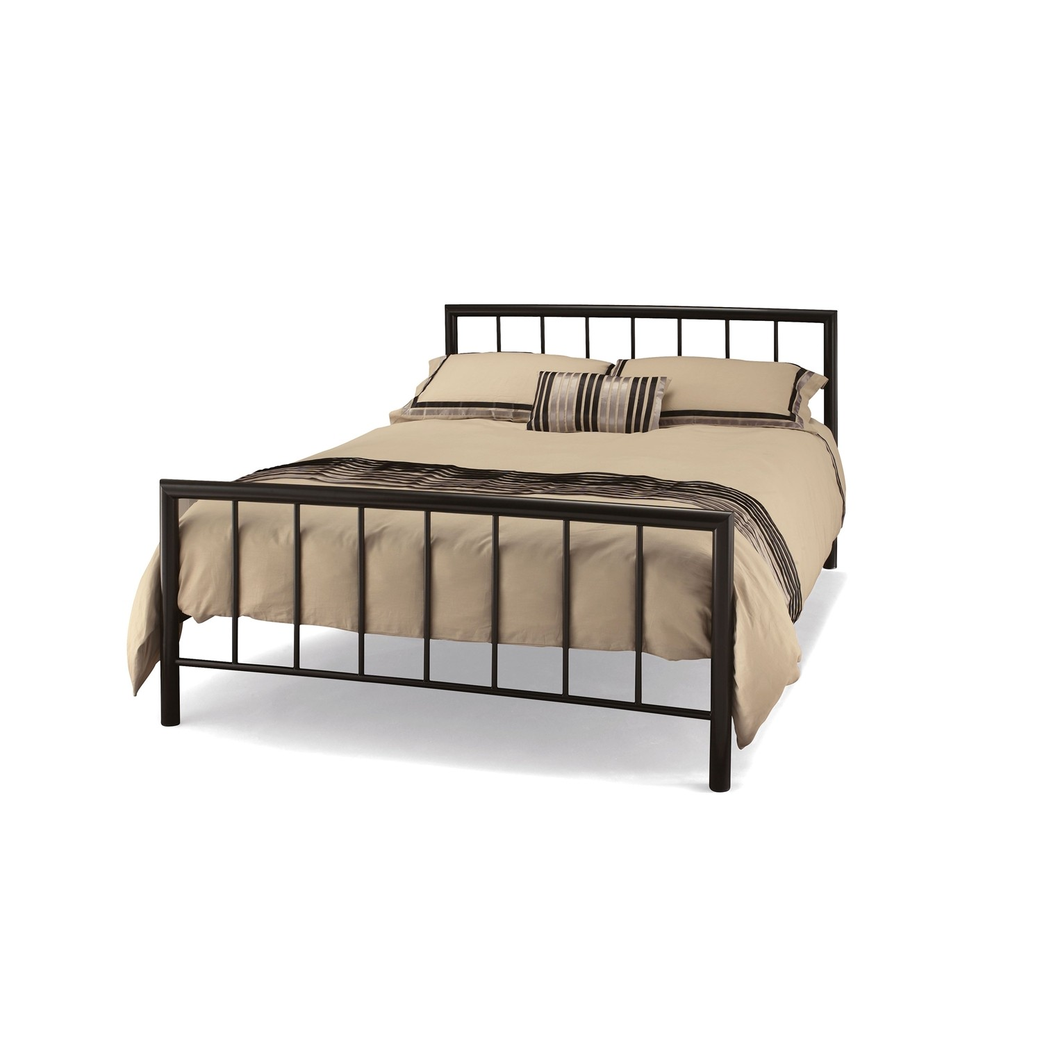 Casa modena small double bed frame leekes for Small bed frame