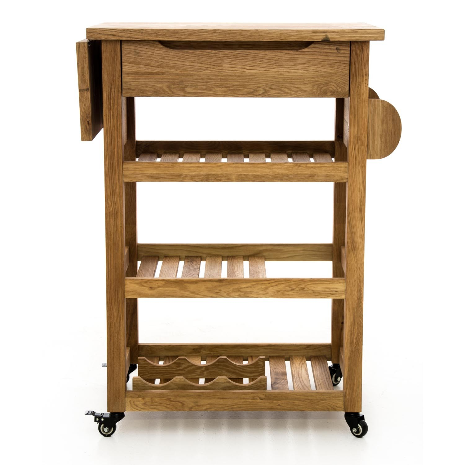 Kitchen Trolley Casa Devon Kitchen Trolley Beech Leekes