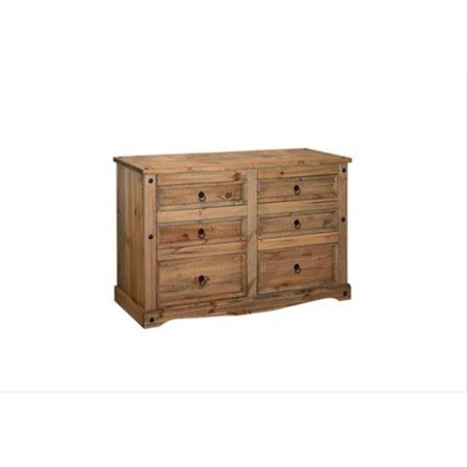 Connor 3 3 Drawer Wide Chest Leekes