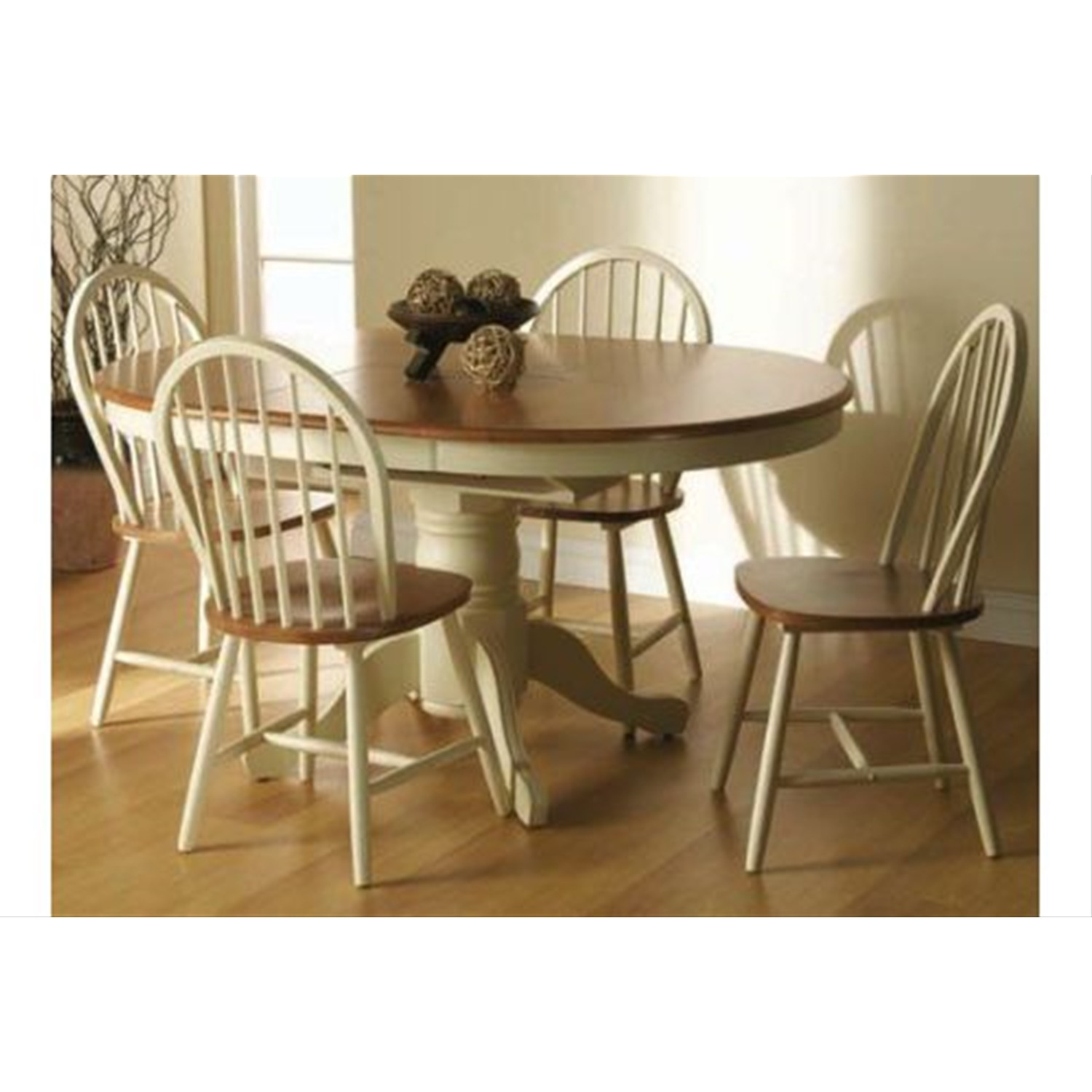 Casa Burnham Table 4 Chairs Leekes